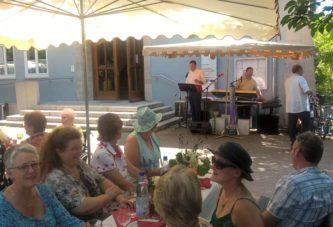 60. Geburtstagsfeier von Gerhard Strotkötter auf dem Longchampplatz