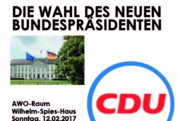 PUBLIC POLITIK VIEWING:  DIE WAHL DES NEUEN BUNDESPRÄSIDENTEN