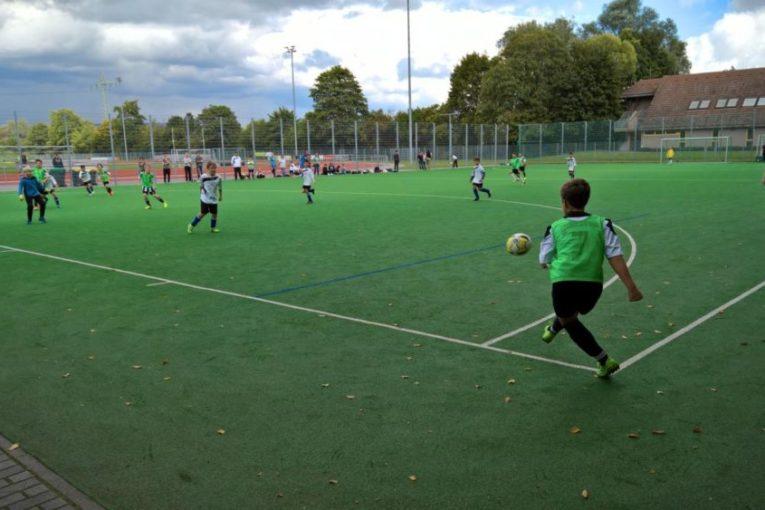 Alemannia E1 Jugend gewinnt 8:1 in Heidesheim